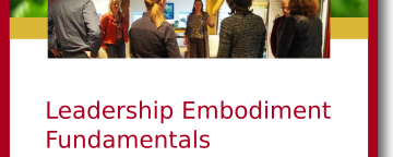 Leadership Embodiment Fundamentals