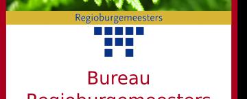 Strategie traject Bureau Regio burgemeesters